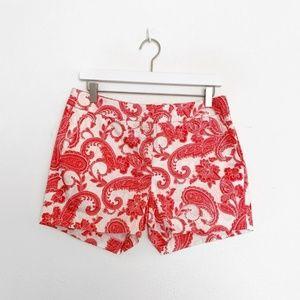 Anthropologie Kenji Paisley Chino Shorts